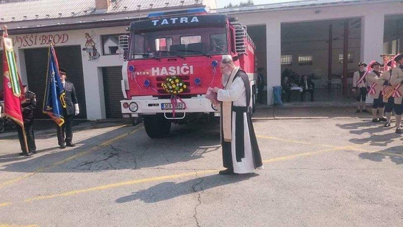 Z činnosti vyšebrodských hasičů