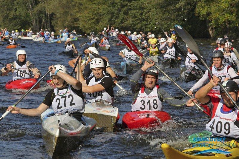 Krumlovský vodácký maraton se jede už popatnácté