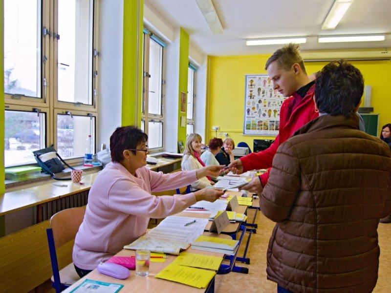 VIDEO: Jak jsme volili ve Vyšším Brodě