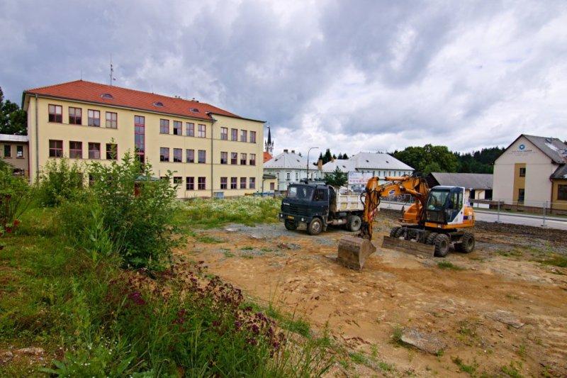 Víceúčelové hřiště za školou - informace pro občany