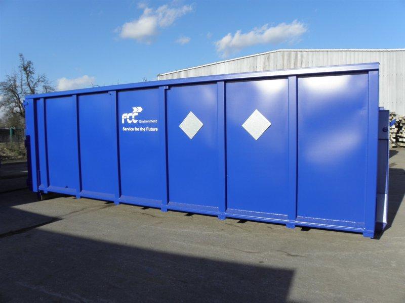 Přistavení kontejnerů na velkoobjemový odpad Vyšší Brod 2. 6. 2018