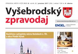 Ilustračni fotografie k časopisu Vyšebrodský zpravodaj 12/2017